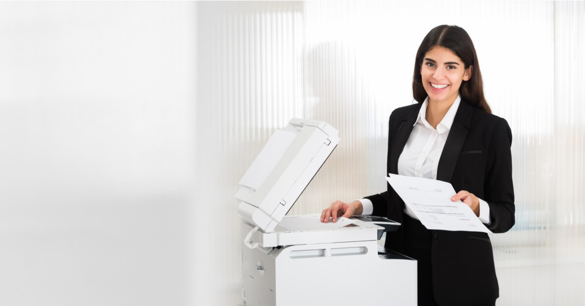 non-profit copier and printer buying lease usage